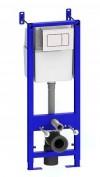 Система инсталляции Уклад с белой кнопкой